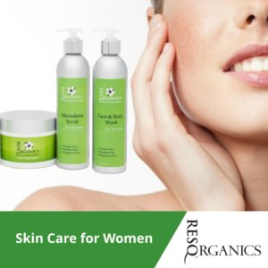 Finally All-Natural Skin Care for Women