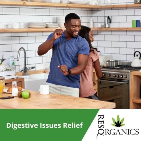 CBD can help with digestive issues!